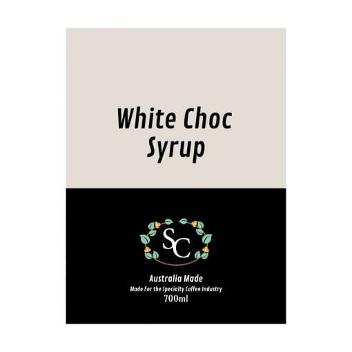 White Chocolate Syrup