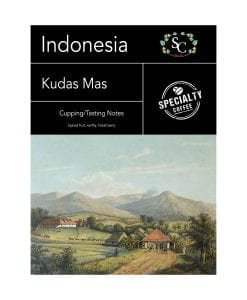 Indonesian Kudas Mas Coffee