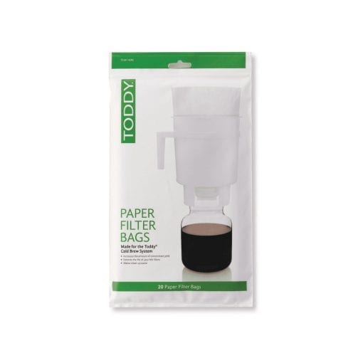 Toddy Domestic Paper Filter Bags 20 Pack
