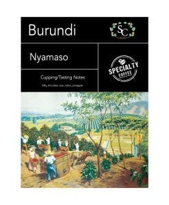 Burundi Nyamasu Single Origin Coffee