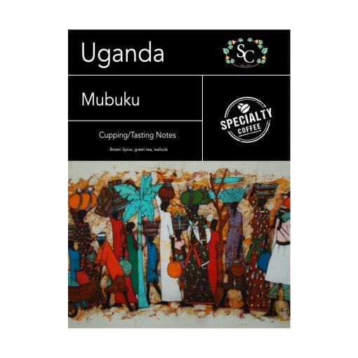 Uganda Mubuku Single Origin Coffee Beans