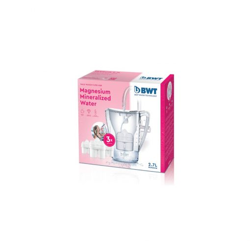 BWT Water Filter Jug with 3 Cartridges